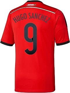adidas Hugo Sanchez #9 Mexico Away Jersey World Cup 2014
