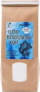 Kräuterladen Echter Birkenzucker (Xylit), natürlicher Zuckerersatz ohne Mais aus..