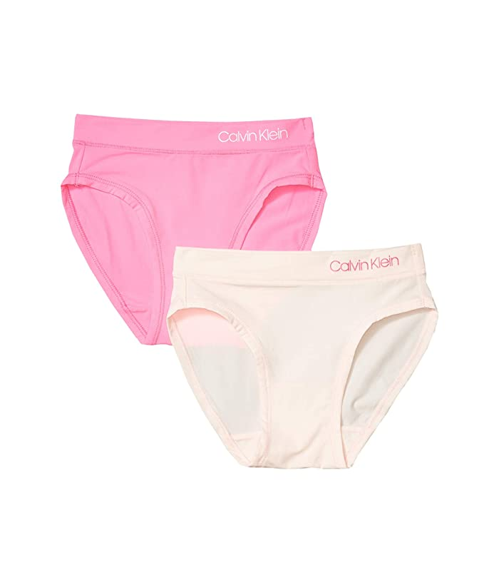 Pack 720 Stretch Micro Hipster (Little Kids/Big Kids) (Pink/Bright) Girl's Underwear