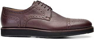 8176-482 KEVA-Floter Kahve 702 Nevzat Onay Bağcıklı Kahverengi Günlük Deri Erkek Ayakkabı
