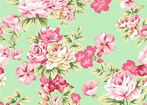 Postkarten 10er Set Vintage Flowers, Vintage Postkarte, postkarten Blumen, Postkartenset Blumen