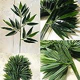 Verde Artificial Bambú Sale De Falsos Plantas Verdes Hojas Verdor Para Home Hotel Oficina