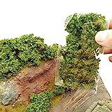DIY Miniature Shrubs Bushes Foliage Terrain Model Kit Sand Table Simulation Landscape War Gaming Terrain Decoration Railroad Scenery War Gaming Scenery