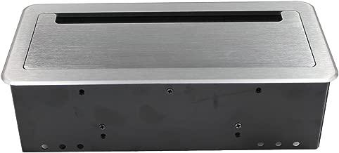 Wiistar Power Data Center - HDMI,VGA,RJ45,USB,3.5MM Audio Tabletop Interconnect Box