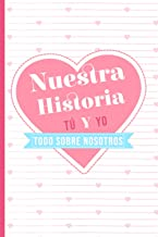 Nuestra Historia | Tú y Yo | Todo sobre nosotros: El libro que cuenta vuestra historia de amor | Cuaderno para ser rellena...