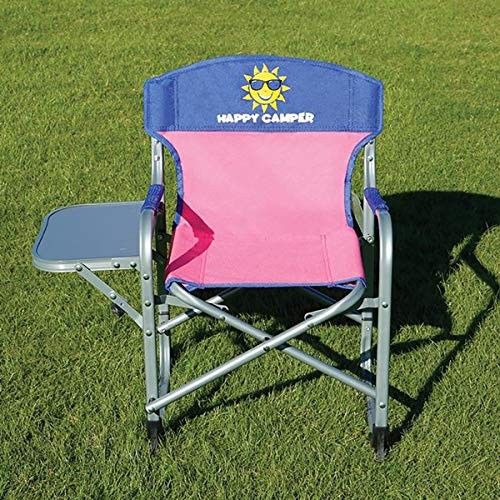Kids' Director'S Chair, Pink/Blue Pink
