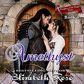 Amethyst audiobook cover art