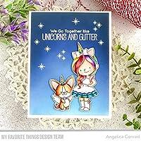 "My Favorite Things Birdie Brown Stamps 4""X8""-Unicorns & Glitter"