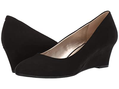 Bandolino Fayola Wedge Heel (Black Fabric) Women