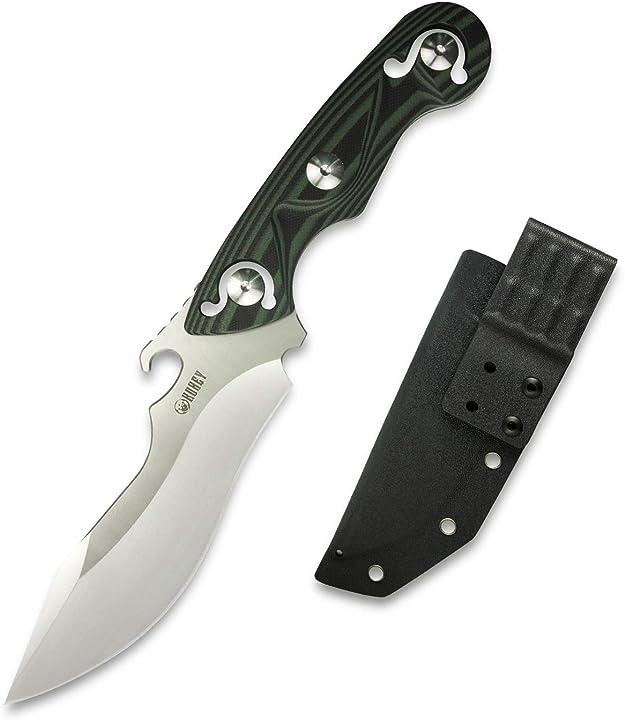 Coltello a lama fissa   da caccia   coltello da esterno   sopravvivenza   kubey ku250