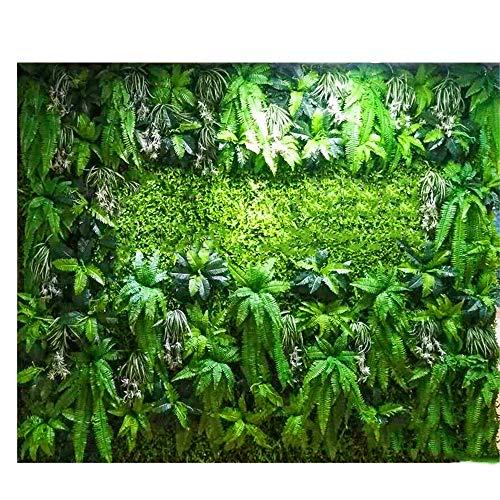 LVZAIXI Panneaux De Plantes De Haies Artificielles Écran De Confidentialité for Clôture De Jardin for Intérieur Décoration De Sol (Color : A, Size : 100x100cm)