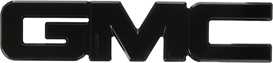 AMI 96504K GMC'' Tailgate Emblem- Black Powder coat, 1 Pack