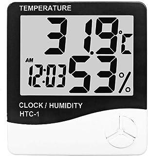 XYXZ Higrómetro LCD Electrónico Digital Medidor De Temperatura Y Humedad Termómetro Interior Exterior Higrómetro Estación ...
