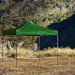 Regalos Miguel - Carpas Plegables 3x3 - Carpa 3x3 Basic - Verde - Envío Desde España
