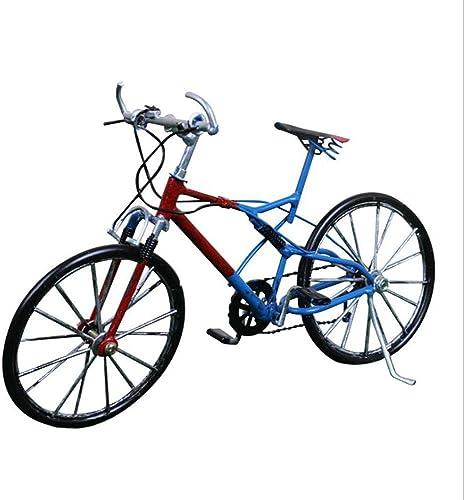 LIJUN Retro-Farbe Kunsthandwerks-Fensterdekoration Kreatives Fahrrad Statik-Modell