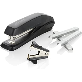 Swingline Stapler Value Pack, Standard Stapler, 15 Sheet Capacity, includes Staples & Staple Remover (S7054567H),Black