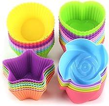 Avana - Moldes reutilizables para magdalenas de silicona de
