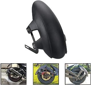 Aneil Universal Motorcycle Rear Wheel Fender,Black Plastic Mud Guard Mud Flap Splash Guard for Motorcycle Electric Vehicle