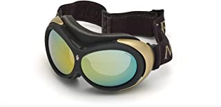 Moncler ML0130A - 05L Black and Yellow Ski Goggles 89mm