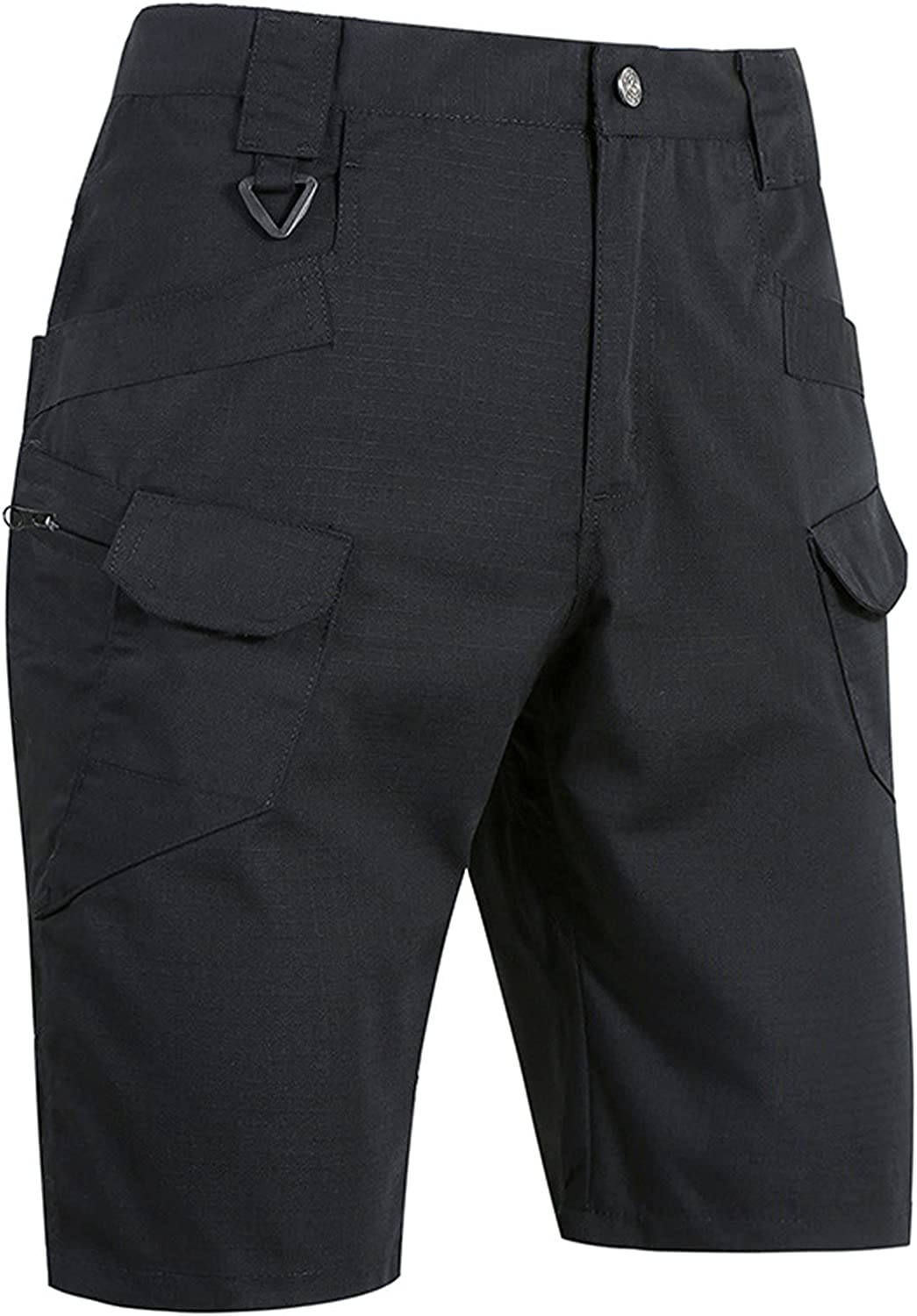 UOFOCO Cargo Shorts for Men Relaxed Fit Waterproof Casual Tactical Shorts Quick Dry Breathable Summer