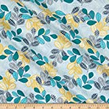 Michael Miller 0684261 Fabrics Living in The Wild Leafing