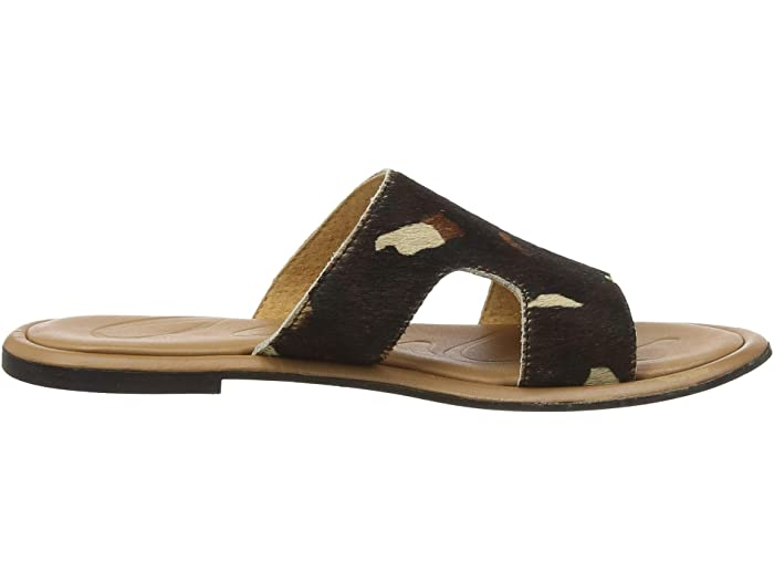 Joules Avondale Chocole Leopard Sandals