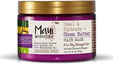 Maui Moisture Heal & Hydrate + Shea Butter Hair Mask, 12 Ounce