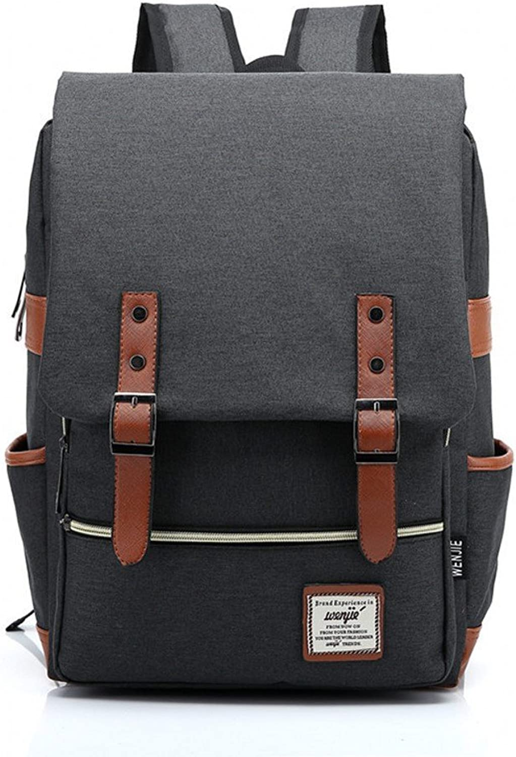 MSXUAN New retro outdoor canvas big travel backpack fashion backpack