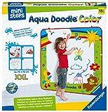 Ravensburger ministeps 4182 Aqua Doodle XXL Color - Farbiges erstes Malen für Kinder ab 18 Monaten, fleckenfreier Malspaß mit Wasser - Matte 78x78 cm
