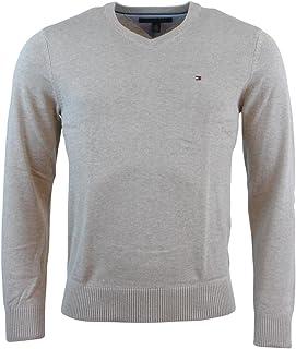Tommy Hilfiger Men's V-Neck Long Sleeve Pacific Pullover...