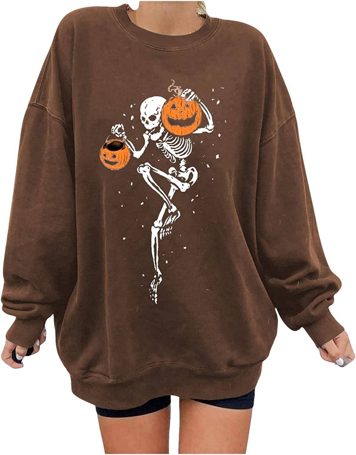 Oversized Sweatshirt for Women Selling Fashion Super intense SALE Vintage Print Cre Casual