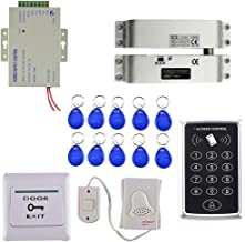 Blesiya Compleet Compleet 125 KHz RFID EM-kaartlezer Toegangscontrolekit Strike Lock