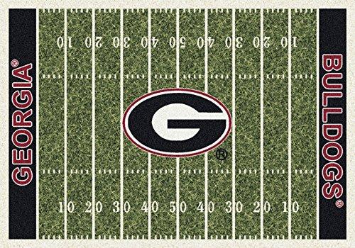 American Floor Mats Georgia Bulldogs NCAA College Home Field Team Area Rug 10
