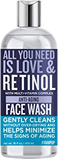 #VAMPUP Retinol Anti-Aging Face Wash with multi-vitamin complex, exfoliating daily use face wash 480 ml