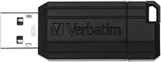 Verbatim Pen Drive Unità USB PinStripe da 16 GB - Nera