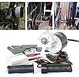 24V36V 350W Kit eléctrico de la conversión de la vespa del kit del motor eléctrico de Bici eléctrica casera de Bike L-FASTER EBike de la bici de E-Bike de DIY (24V350W)