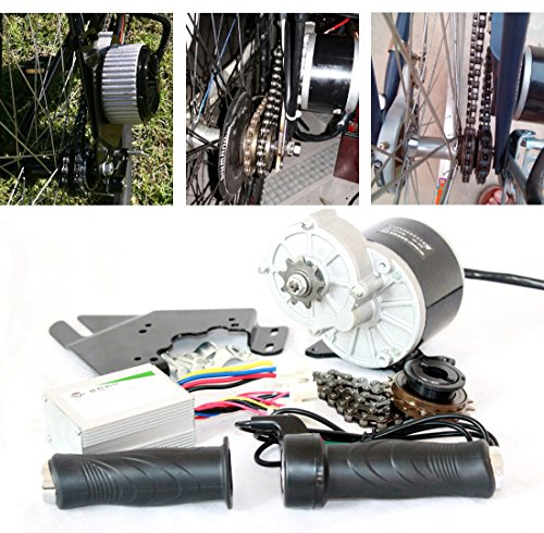 L-faster 24V36V 350W Elektromotor Kit Elektroroller Conversion Kit DIY E-Bike SELBST GEMACHT Electric Bike EBike Motor (36V350W)