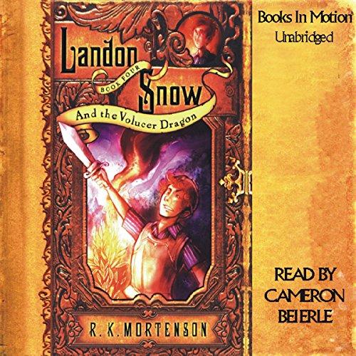 Landon Snow & the Volucer Dragon audiobook cover art