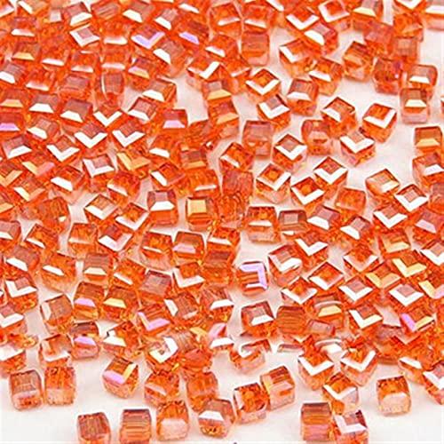 Kit de cuentas de semillas de colores Cristales irregulares perlas para joyería Kits, chips naturales Cristales Kit de piedras preciosas con cuentas de semillas, espaciadores para anillos pendiente co