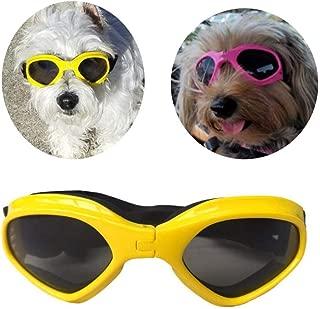 PetBoBo Pet Waterproof Windproof Anti-Fog Eye Protection Goggles, Stylish Pet Dog UV Goggles Sunglasses Waterproof Protection Sun Glasses for Dog