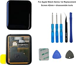 E-yiiviil Replacement Screen Compatible with Apple Watch Series 1st 42mm Touch Screen Display LCD +Tools (1st 42mm)