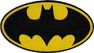 Batman Dark Knight DC Comics Movie Classic Bat Logo Iron On Applique Patch DC08