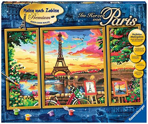 Ravensburger Malen nach Zahlen 28495 - Im Herzen von Paris - Für ab 14 Jahren