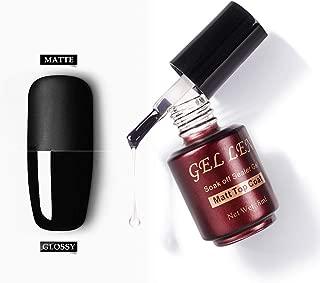 Gellen Matte Top Coat for UV Gel Nail Polish - Trendy Nail Art Quick Dry Easy Home Gel Manicure