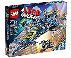 Includes 4 minifigures with accessories: Benny, Robo Emmet, Space Wyldstyle and Robo Pilot, plus an Astro Kitty figure Benny's Spaceship features an opening cockpit, 2 spring-loaded laser shooters, 4 flick missiles Detachable wing flyers each feature...
