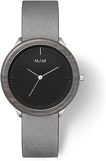 MAM Originals · Stainless Dark   Orologi da uomo   Design minimalista   Creati con legno ecosostenibile e acciaio inossida...
