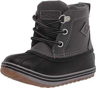 Sperry Bowline Boot, Grey/Black