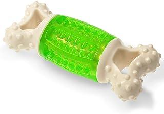 اسباب بازی Fluffy Paws Dog، اسباب بازی توله سگ با شکل استخوان 5.6 اینچ ، بادوام ، اسباب بازی لاستیکی جویدن دندان برای توله سگ کوچک و متوسط