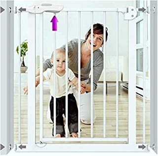 Expandable Pet Isolation Fence Child Safety Door Fence Baby Gates for Stairs Guardrail Free Punching