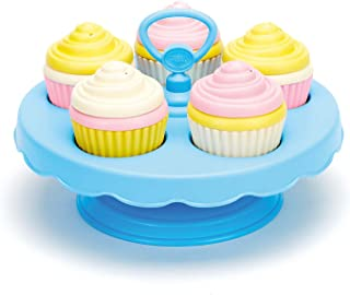 Green Toys CPCK-1152 Cupcake Set,Multi, 16 pcs